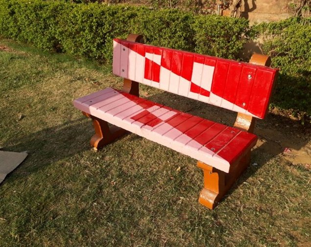 garden benches in Hyderabad