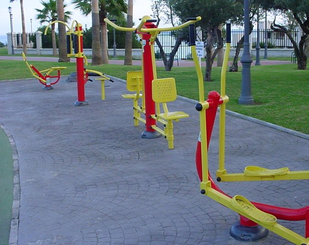 outdoor gym items in Hyderabad